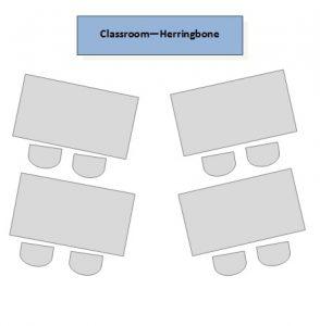 ClassroomHerringboneforTrainingMeetingandCorporateEvents