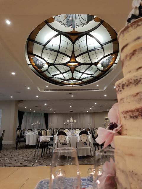 Belinda and Jovan Wedding Cake and Wedding Reception